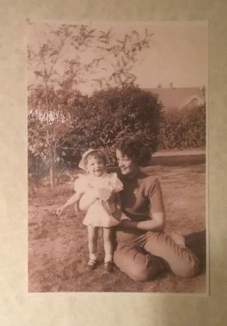 Linda Mae Kenyon and Mom