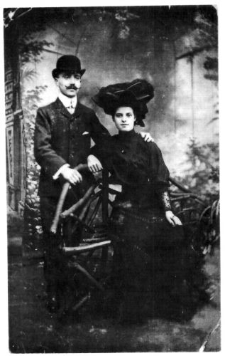 Paul Pfisterer and Isabella Railton Marriage
