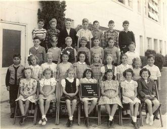 Lincoln School, California 1946