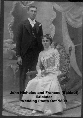 John and Frances (Baldauf) Brickner