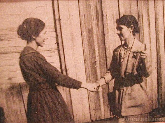 Wells Sisters ca. 1920