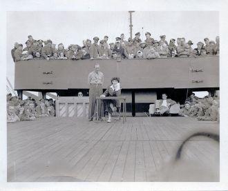USO - Hanlon & Clark on Deck!