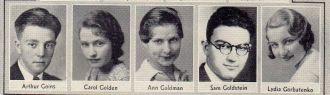 Arthur Goins and 1933 Seniors from San Francisco