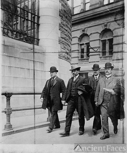 [Detective Lt. Joseph Petrosiino( left) , Inspector Carey...