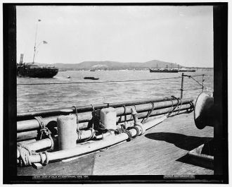 Camp M'Calla [i.e. McCalla] at Guantanamo, June 1898