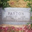 Jasper & Lissie Payton gravesite