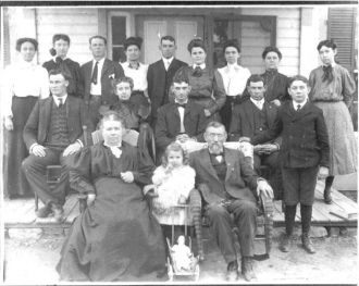 Munro Family about 1907