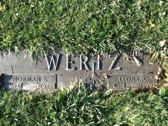Norman & Leona Wertz gravesite
