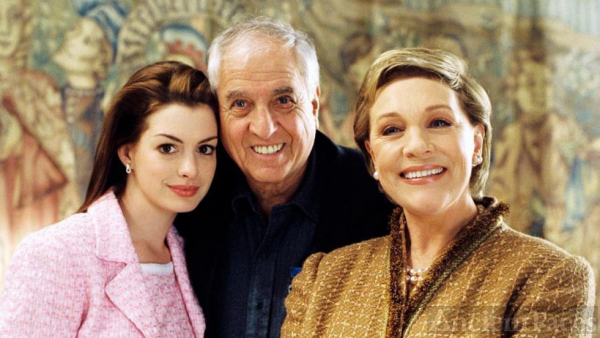 Garry Marshall,  Ann Hathaway, Julie Andrews