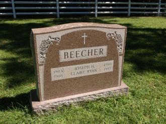 Joseph Henry Beecher--gravestone