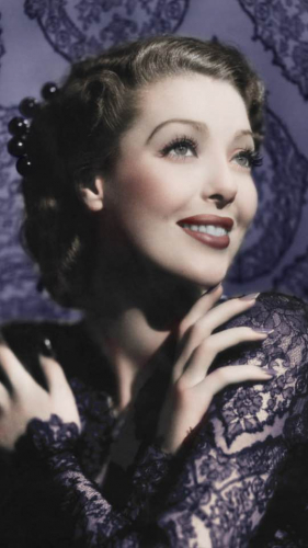 A photo of Loretta Young