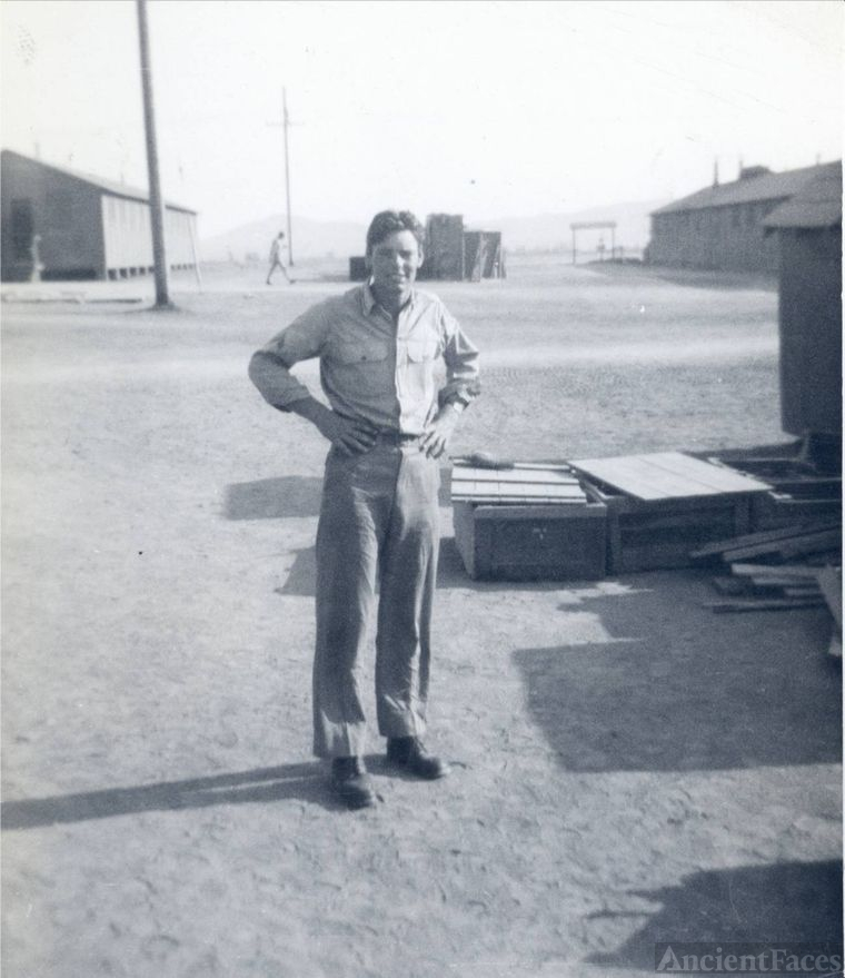 WWII: Young Fred Walter Vallis