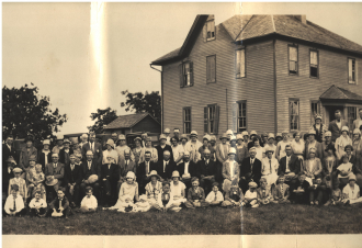 Stavanger Boarding School First Homecoming Picnic June 16, 1928 Image 2