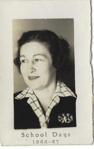 Mrs Joe Morgan Brown
