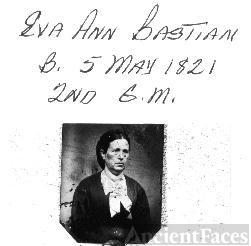2nd great grandmother Eva Ann