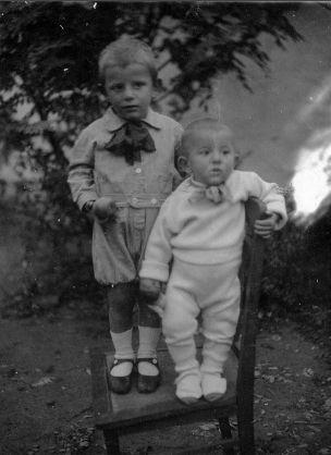 Franz & Wendelin Leibham, Russia 1938