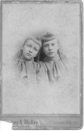 A photo of Annie &  Nannie Mattick