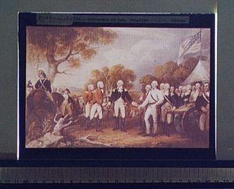 Surrender of Gen. Burgoyne