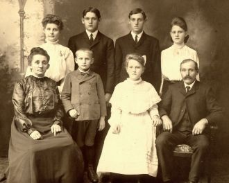John Henry Smith Family Photo