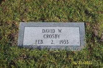 David W. Crosby