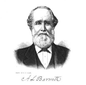 Sketch of Alex L. Barnett - son of John I. Barnett
