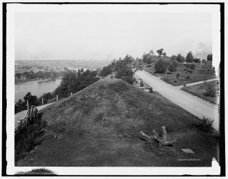 St. Paul, Minn. from the Indian mounds