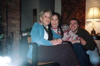 Anita, Precy, & Chip Sears