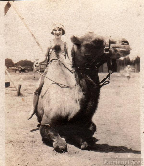 Katherine Charlson & Camel Photo