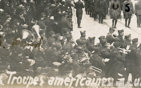 American band, Luxembourg City 1918