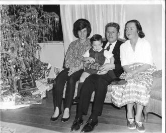 Dec. 18, 1965 Michelle Mallory, Tim Mallory, Marc Johnson, Marjorie Johnson