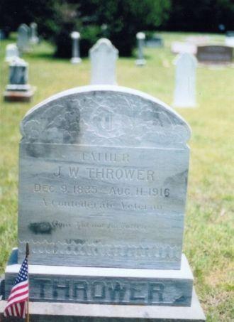 Joseph William Thrower