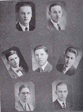 Bernard Ahlgren &  San Jose CA  Debate Team 1926