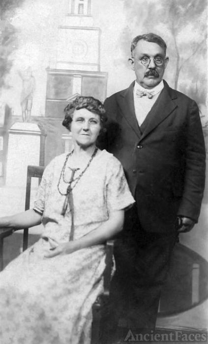 Abram and Bertha Van Kleeck