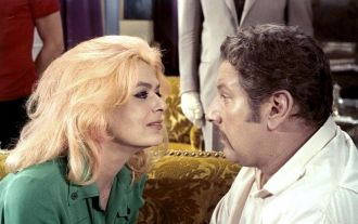 Melina Mercouri and Peter Ustinov