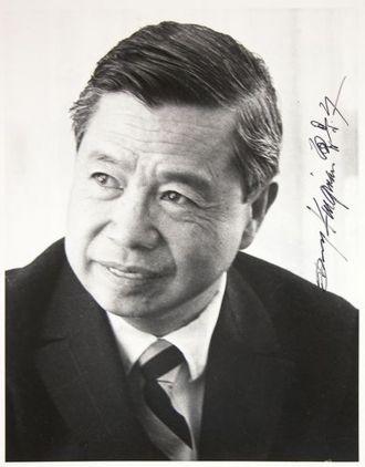 """A photo of Dong Moy """"Dong Kingman"""" Shu"""