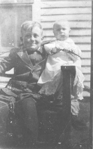 James and sister Ruth Mizer