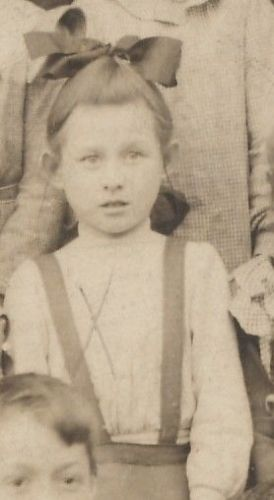 Marion Bolger, young school girl