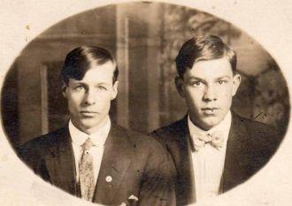 Albert Golden  and Lawell Hahn