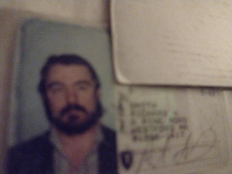 Rick's old drivers license