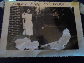 Finley Kidd and wife