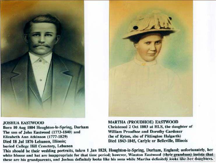 Joshua and Martha Eastwood