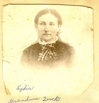 Lydia Tresey Caughron Tuck