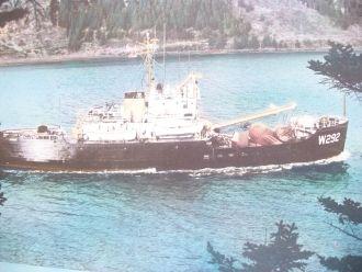 U.S.C.G. Cutter Clover, W292