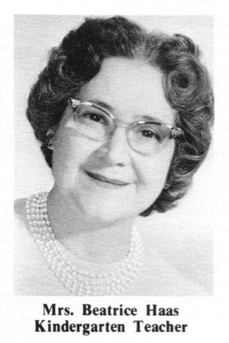 Beatrice S Haas