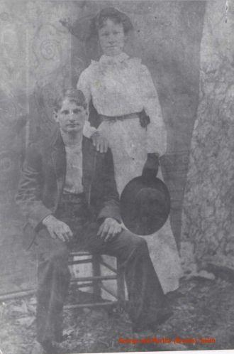 George and Martha Ellen Smith