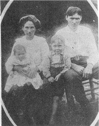 Josh & Bettie Case and children