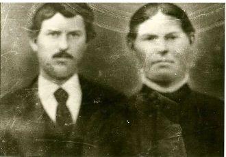 Soloman Barker & Nancy Belle Cornett