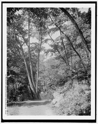 Split Rock Road, Ethan Allen Park, Burlington, Vt.