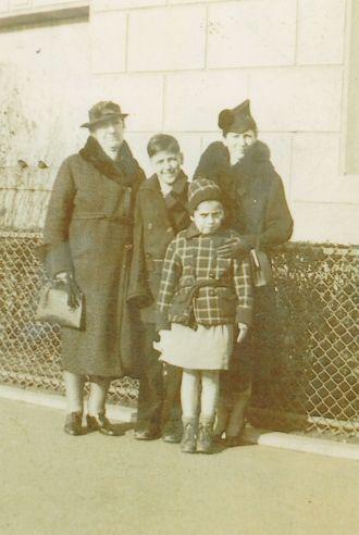 Frances, Margaret, Edwin, Ethel Ekleberry, NJ