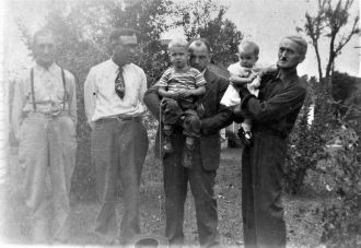 Pinkley Men - 4 generations